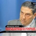 Political Persecution in Serbia by the Aleksandar Vučić Regime: Interview with Nikola Sandulović